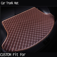 car ACCESSORIES Custom fit car trunk mat for BMW X5 xDrive28i/ 35i/ 30d xDrive50i xDrive40e 2014.2015.2016. carpet cargo liner(China)