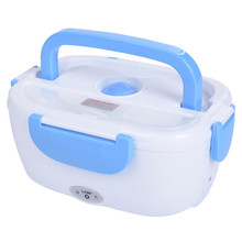 12 V Car Plug Heated Lunch Box Electric Heating Lunchbox Food Warmer Car Truck Stove Oven Electric Rice Cooker(China)
