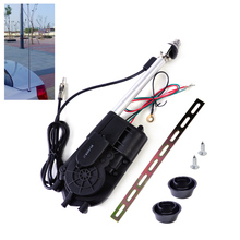 New Universal 12V Car Aerial Automatic Power Antenna Replacement Kit AM FM Radio Mast Signal Booster for Volkswagen Toyota Mazda