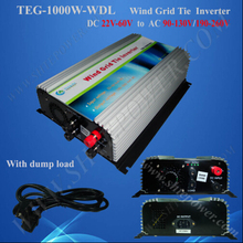 Great quality 24V 220V 1000W rohs grid connect inverter wind(China)