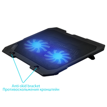 Laptop Cooling Pads USB Notebook stand for laptop cooler cooling laptop Two Quite cooling fan fixture for laptop