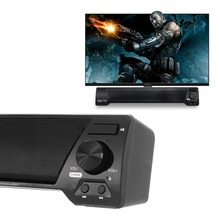 XGODY LP-09 Soundbar for TV PC Phone Bluetooth Speaker 10W Home Theater Audio Receiver Music Center Sound Bar with FM Radio