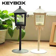Handmade Metal Candleholder Vintage Home Decorative Table Floor Tall Birdcage Candle Holder For Wedding(China)