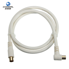 Choseal QQ005T1 Male To Male TV Satellite Antenna Cable Four-Layer Shielded RF Radio Frequency Cable For Multimedia TV TV BOX