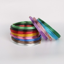 10M Anadized Aluminum Wire versatile painted aluminium metal wire, Ni & Pb free - 18 gauge (1mm) DIY jewelry Findings