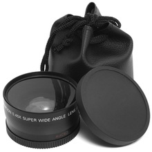 Buy 58MM 0.45x Wide Angle Lens + Macro Lens Cannon 5D/60D/ 70D/350D / 400D / 450D / 500D /1000D/ 550D / 600D /1100D 18-55MM Lens for $12.33 in AliExpress store