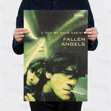 Fallen Angels /classic Karwai Wong movie/kraft paper/Cafe/bar poster/Retro Poster/decorative painting 51x35.5cm Free shipping