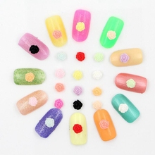 New DIY 10ml/Box 4 Colors Nail Glitter Powder Pink Rose Red Mixed Sequins Manicure Nail Art Tips Nail Art Decoration Set
