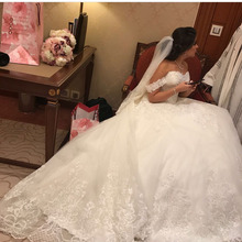 Buy Eslieb Custom made Ball Gown Lace Wedding Dress 2018 Bridal Dresses Sweetheart Vinatge Wedding Dresses Vestido de Noiva China for $647.99 in AliExpress store
