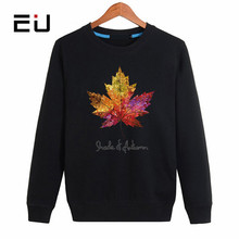 EU brand Hoodies Winter 2017 outerwear Pullovers Winter Men's Sweat Comfortable Casual Printed Sweatshirts Plus Size 4XL(China)