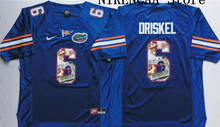 Nike 2016 Florida Gators Orange DRISKEL #6  WINSTON #5 Star and Players picturesT-shirt Limited Jersey