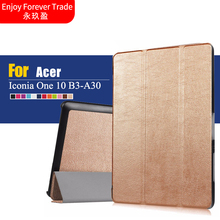 Ultra Slim Custer For One10 B3-A30 Leather Cover Case  10.1'' tablet case cover for acer Iconia One 10 B3-A30 Tablet protective