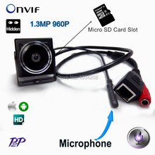 1.3MP Fisheye Mini IP Camera 960P HD Security Camera Camhi App CCTV Surveillance Cam Support Micro SD Card Recording PC Browser