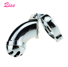 Buy Qise Top Quality Alloy Metal Male Chastity Cages,Cock Cage,Penis Rings,Virginity Lock,Adult Games,Sex Toys