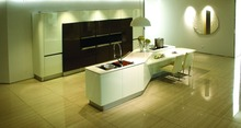Australia design matt lacquer modern kitchen cabinet free design(China)