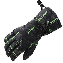 #1014 2016 Snowboard gloves Winter ski gloves warm Gloves winter waterproof in men snowboard snow board Motorcycle(China)