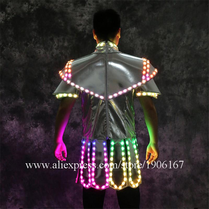 Led luminous stage dance wear4
