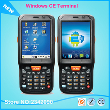 i6100s WIN CE Mobile Terminal Industrial Rugged PDA For 2D Barcode Scanner With 4GB ROM 1GHz CPU