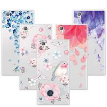 Buy 3D Art Print Case Coque Sony Xperia L1 Flower Lace Relief Soft TPU Phone Cases Cover Sony L1 L 1 G3311 G3313 G3312 Funda for $1.46 in AliExpress store