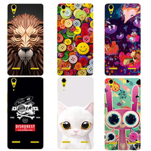Buy Cute Cartoon Case Coque Lenovo A6000 Lemon K3 K30-T soft silicone Printing Back Cover Funda Lenovo 6000 Case Capa for $3.24 in AliExpress store