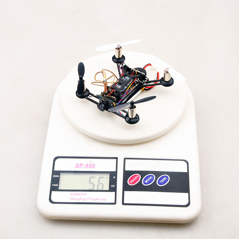 Original Eachine Tiny QX95 95mm Micro FPV LED RC Racing Drone Quadcopter Based On F3 EVO Brushed Flight Controller RC Models Toy