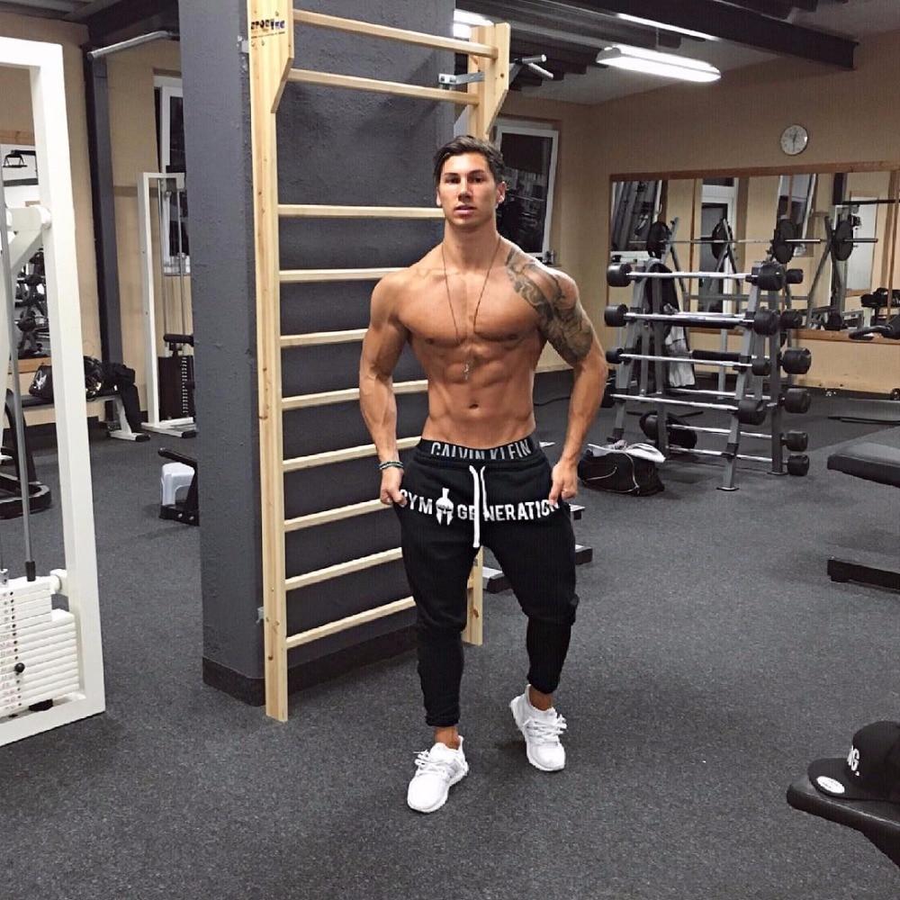 Brand Gyms Men Joggers Casual Men Sweatpants Joggers Pantalon Homme Trousers Sporting Clothing Bodybuilding Pants 22