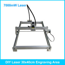 7000mW metal marking machine, 30*40CM laser carving machine,laser cutter machine,laser engraving machine,cnc advanced toy