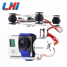 Buy LHI Frame 2-Axis brushless Gimbal high definition drone camera professional Camera Mount gimbal quadrocopter for $43.11 in AliExpress store