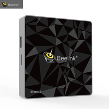 Beelink GT1 Ultimate TV Box Android 7.1.2 DDR4 3G RAM 32G eMMC Flash Amlogic S912 Octa Core CPU Media Player 5G WiFi BT 4.0 DLNA(China)