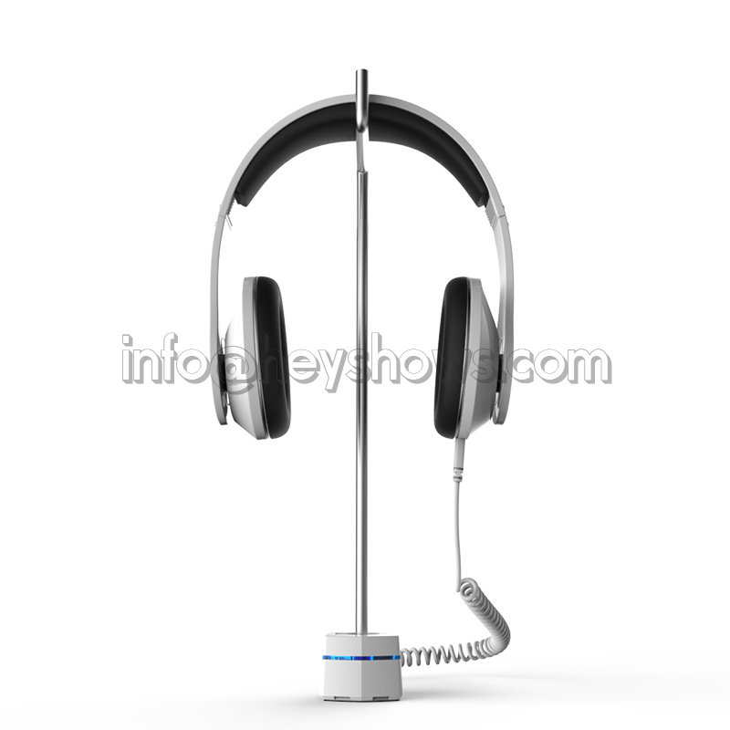 Headphone security stand