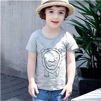 Boys-T-Shirt-2017-Cotton-Short-Sleeve-Character-Lion-Print-Baby-Tshirt-Children-Clothing-Boy-Girls