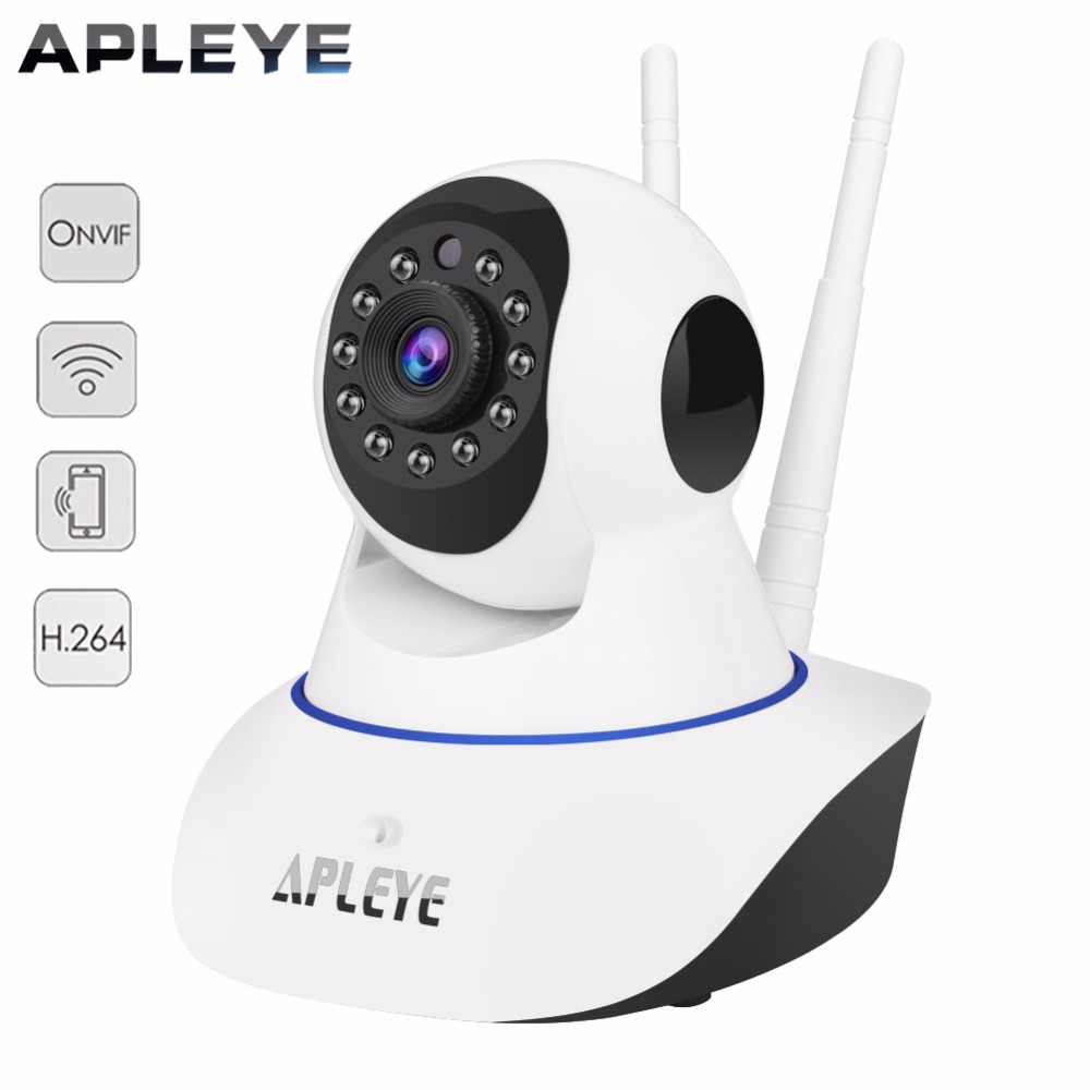 APLEYE P2P WIFI IP Camera 1.3MP 720P HD Pan/Tilt Wireless Security CCTV Camera Mini Dome Baby Monitor Surveillance Camera<br>