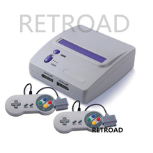 2017 newest RETROAD 16-bit Entertainment TV Game System with S-vide ,16bit High quality game console(China)