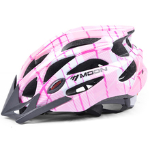 MOON Child Bicycle Helmet 3 Colors Ultralight Cycling Helmet Breathable Safety Outdoor Mountain MTB Bike Helmet
