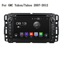 2 Din 7 Inch 4 Core A9 1.6GHz Android 5.1 Video Bluetooth Phone Wifi 4G Car DVD Player GPS Navi For GMC Yukon/Tahoe 2007--2012