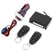 12V Car Alarm System Vehicle Keyless Entry System with Remote Control & Door Lock Automatically & LED Indicator for Toyota(China)