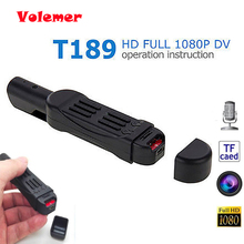 Volemer Hot Sale T189 Mini DV Camera HD 1080P 720P Pocket Pen Micro Camera Video Voice Recorder Camcorder Camara Digital DVR(China)