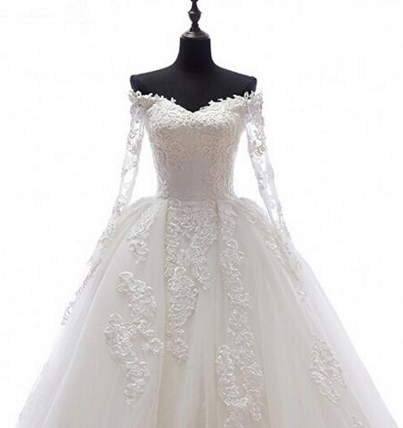 Real-Image-Detachable-Skirt-Wedding-Dress-2017-Vintage-Vestido-De-Noiva-Long-Sleeves-Handmade-Bridal-Gowns (2)