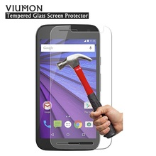 For Motorola Moto G3 Tempered Glass 3rd Gen 2015 XT1540 XT1541 XT1542 Screen Protector HD Clear Front Guard Protective Film(China)