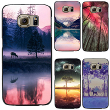 J1 2016 Hard PC Cover For Samsung Galaxy J1 2016  Phone Case The Fog Elk And Swings Very Hot 2016 Top Fashion Best Choose Newest