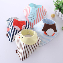 Cartoon funny new design bibs burp cloth for feeding newborn clothing care for breastfeeding baby scarf babador  apron for feed