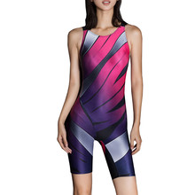 2017 Newest One Piece Women Swimwear Sexy Professional Sport Swimsuit High Quality Female Body Suit Plus Size Bathing Suit
