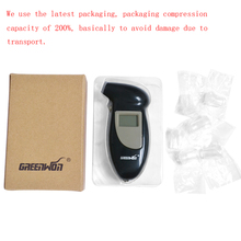 Digital LCD Backlit Display Breathalyzer Professional digital Breath Alcohol Tester Detector Audio Alert