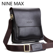 2016 hot sell famous brand design leather men bag casual business leather mens messenger bag vintage fashion mens cross body bag(China)