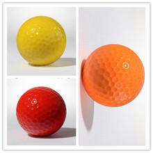 Free Shipping 4PCS Two layers Colorful Golf Training Golf Ball High-Grade Wholesale Direct Manufacturer Promotion Golf Balls