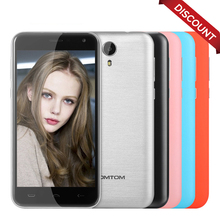 Discount! HOMTOM HT3 Pro Original Smartphone Android 5.1 5.0'' MTK6735 Quad Core Mobile phone 4G 2GB+16GB 8MP Camera Cellphone(China)