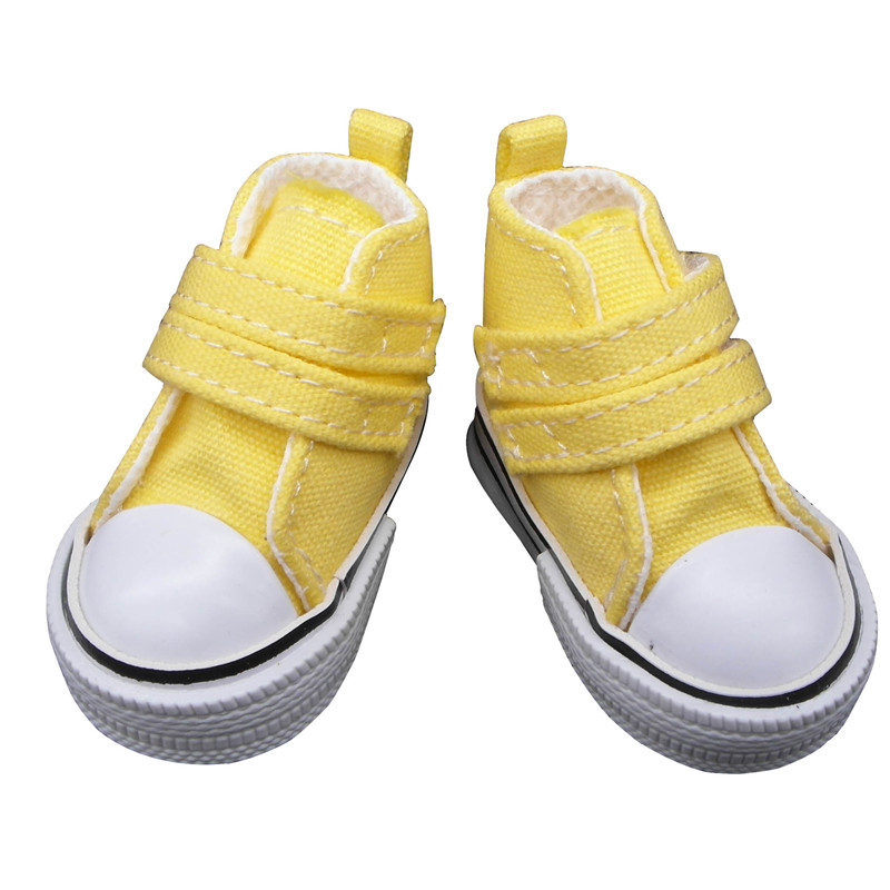 doll shoes yellow