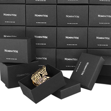Nomlnatlon Jewelry Box Packing Box Bracelet Box Gift box Beautiful black(China)