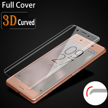 Buy 3D Curved Tempered Glass Sony Xperia XA1 XA Ultra, Full Cover XZ Premium XZs X Performance Compact 9H Screen Protector Film for $1.38 in AliExpress store
