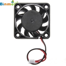 Cooling Fan Water cooling computer 12V 2 Pin 40mm Computer Cooler Small Cooling Fan PC Black F Heat sink 6314B13